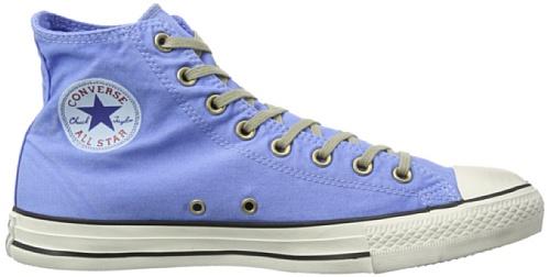 Converse Ctas Well Worn Hi, Baskets mode femme Bleu