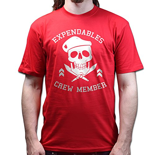 The Expendables Crew Member T-shirt Rot