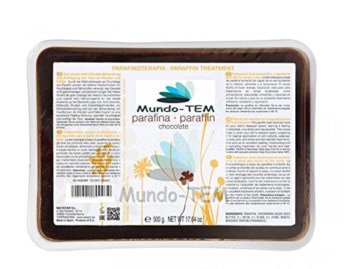 Mundo-TEM ® paraffine Chocolat Pots de 500 grs + Cadeau kit de manucure.