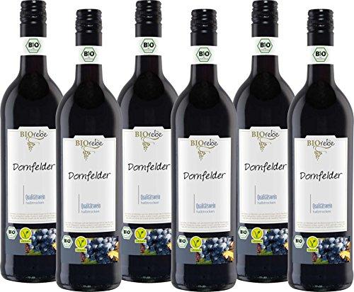 BIOrebe Dornfelder Rotwein Qualitätswein  (6 x 0.75 l)