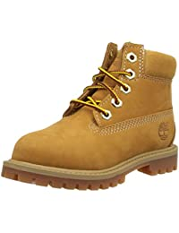 Timberland 6 In Classic Boot FTC_6 In Classic Boot, Bottines avec doublure intérieure mixte enfant