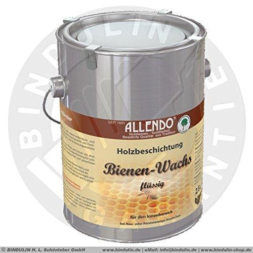 Bienenwachs flüssig 2,5 Liter Dose Farbe: natur inkl. Microfasertuch -