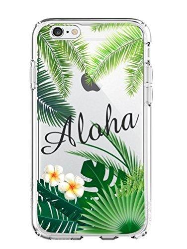 Shark Sommer Tropischen Blumen Floral Zitate Ultra Slim Rubber Silikon TPU Back Cover für, iPhone 5 -