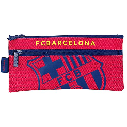 Futbol Club Barcelona- Estuche portatodo Dos Cremalleras