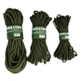 Mil-Tec Commando Seil 15 m x 7 mm, oliv