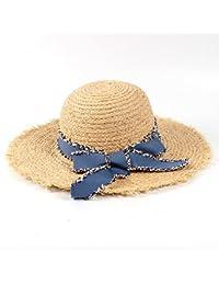JUJIANFU-Sombrero de Personalidad Sombreros del Verano de Las Mujeres de la Moda  Sombrero del Sol de la Visera del Sol Sombrero de la… feb25dac4c57