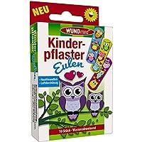 Wundmed 5er Vorteilspack Kinderpflaster Eulen, 5 Pack a 10 Stk. (50 Stk.) preisvergleich bei billige-tabletten.eu