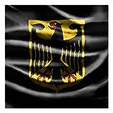 Bilderwelten Kindertisch Fußball Deutschland - Tisch Schwarz, Tisch Schwarz, 55 x 55 x 45cm