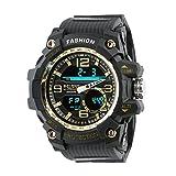 Best Digital Wristwatches - Time Warp Gold Speed Analog Digital Multi Function Review