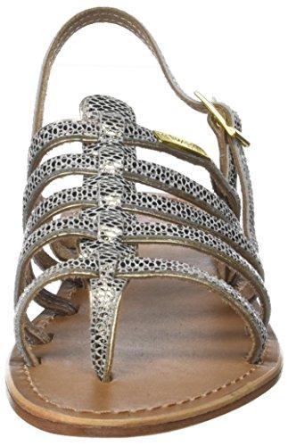 Les Tropéziennes par M. Belarbi Damen Herbier Slingback Sandalen Beige (Serpent Beige)