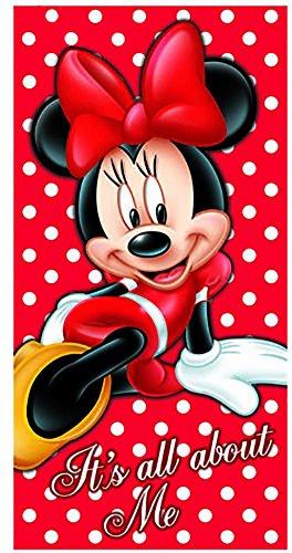 Disney Minnie Maus IT 'S ALL ABOUT ME Strandtuch 28x (Familie Kostüme Disney)