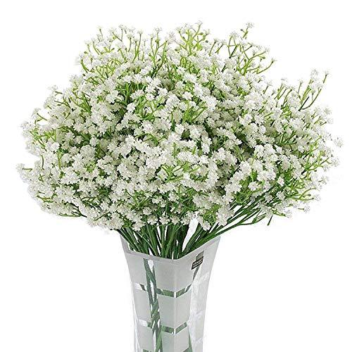 Homcomoda 12pcs Gypsophila Künstliche Blumen künstliche blumenstrauß Blumenarrangements Für Dekoration