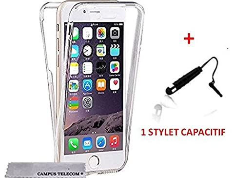 Coque 360 DOUBLE GEL Silicone Protection INTEGRAL pour Smartphone IPHONE