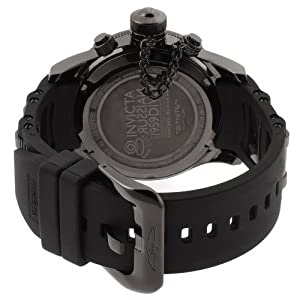 THE INVISIBLE CHEF 1805 - Reloj de cuarzo para hombre, con correa de plástico, color negro de THE INVISIBLE CHEF