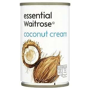 Coconut Cream essential Waitrose 160ml