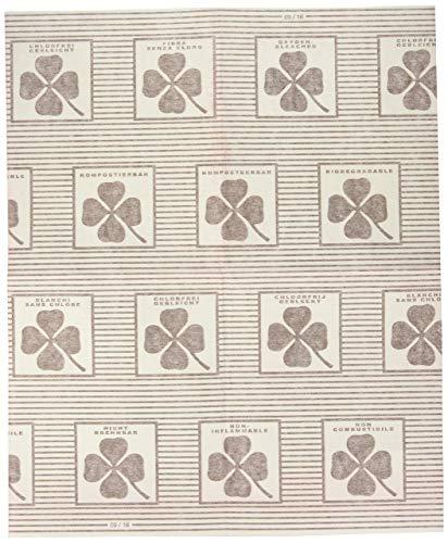 st-Flachfilter, 2er Set, mit Sättigungsanzeige, für alle gängigen Abzugshauben, Zellwolle, 57 x 47 cm, weiß ()