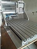 Gowe Holz Router CNC Gravur Maschine CNC DIY CNC Rahmen 15mm dicken Aluminium Legierung Ball Schraube Maschine Werkzeug 300x 400x 95mm