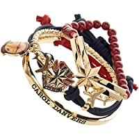 Bioworld Marvel Captain Marvel Bracelet Set