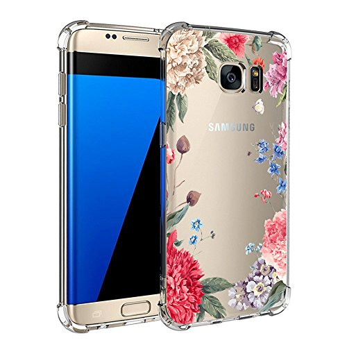 Samsung Galaxy S7 / S7 Edge Hülle Silikon Pacyer® cover Bumper Case TPU Schutzhülle [Ultra Dünn] Stoßfest Flexibel Gel Kratzfest Schlank Anti-Scratch Anti-Rutsch Handyhülle (6, Samsung Galaxy S7)