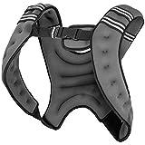 Gewichtsweste X-Style | Laufweste | Weight Vest | Schwarz/Grau | 5-10 KG