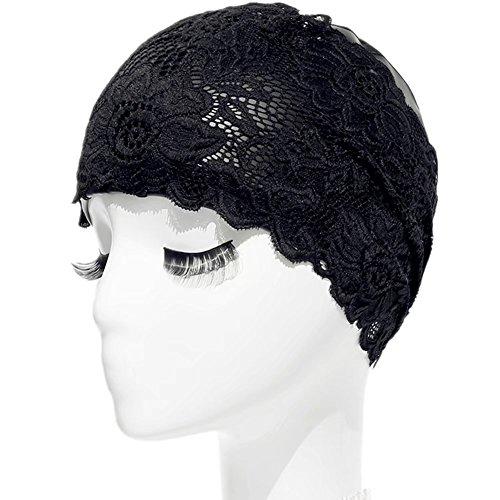 Sannii Long Hair Badekappe PU Beschichtung Damen Personalisierte Lace Badekappe