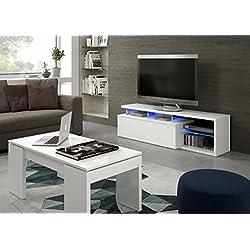 Easy Home Mesa Para Televisor Future A11 Blanco