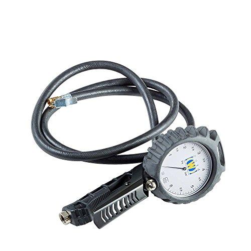 Reifenfüller geeicht + Analoges Manometer 2014 Wonder 80mm, Reifenprüfer geeicht Reifendruckmesser Auto Reifenfüller Set - Bluetooth-auto-rad