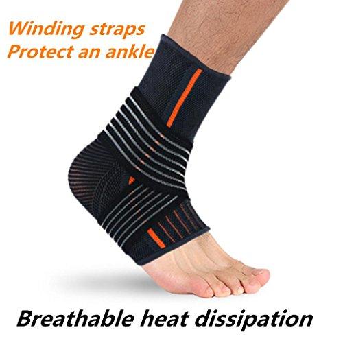 squarex Fashion verstellbare elastische Knöchelbandage Knöchel Bewegung Schutz S/L, damen, mehrfarbig, code L for Men (Knöchel Mobilität)