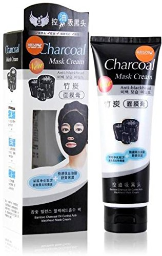 Charcoal Mask Peel Off Oil Control Face Masks For Women / Girls - 130 Gm