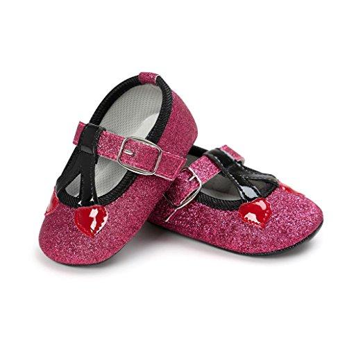 Beiläufige Turnschuhe Kirsch 13 Gold Weiche Prinzessin Rosa Kleinkind Feitong Schuhe Sole Baby CTRpxp
