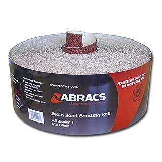 Abracs 115mm x 5m x 120g Sandpaper Roll