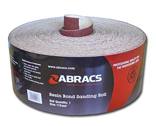 Abracs Schleifpapier-Rolle, 115mmx5m,240g