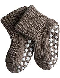 FALKE Baby Stoppersocken Catspads Cotton - 96% Baumwolle, 1 Paar, versch. Farben, Größe  1-18 Monate - Wärmende Stoppersocke mit rutschsicherem Silikondruck