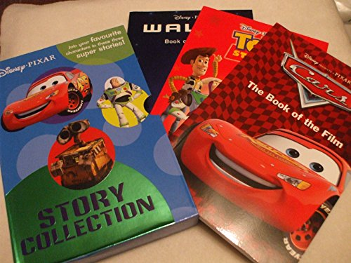 disney pixar story collection, [3 book Boxset] Wall/ Toy Story 2/ Cars