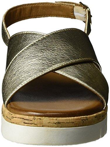 Inuovo - 7950, Scarpe con plateau Donna Oro (gold)