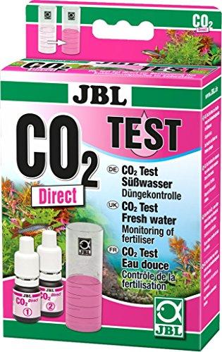 JBL 2541600 Schnelltest zur Bestimmung, Kohlendioxidgehalts in Süßwasser Aquarien, CO2 Direct Test-Set