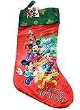 Weihnachtsstrumpf Disney Mickey Mouse Happy Holiday Socken New 388294