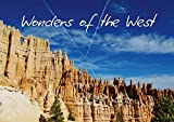 CALVENDO Nature: Wonders of the West / UK-Version (Stand-Up Mini Poster DIN A5 Landscape): Spectacular landscapes of the American West. (Stand-Up ... [Dec 10, 2013] Del Luongo, Claudio