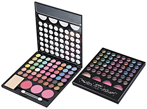 NYN Noyin Eyeshadow and Makeup Kit (48 Eyeshadow, 3 Blusher and 1 Compact) 80290
