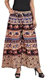MRV FASHION Cotton Printed Stylish Multicolour Plazzo Pants For Women/ girls (Assorted Colour & Assorted Design) (Coffee)