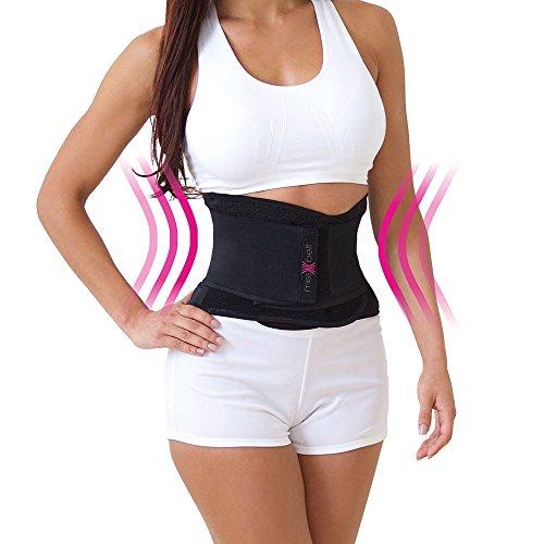 Miss Belt Bodyformer Taillengürtel 1 Beige + 1 schwarz atmungsaktiv - Das Original von Mediashop