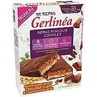 gerlinéa barras repas Minceur Chocolate leche y Caramel–Caja de 12