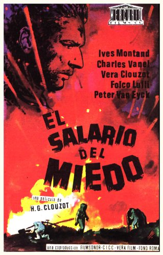 Wages of Fear Plakat Movie Poster (11 x 17 Inches - 28cm x 44cm) (1953) Spanish