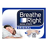 Breathe Right Congestion Relief Nasal Strips, Small/Medium, Original, 30 strips