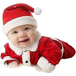 Highdas Traje de bebé de Navidad ropa unisex de las muchachas de los muchachos XMAS