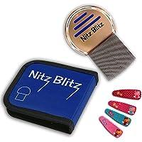 Preisvergleich für Läusekamm für Nissen Freies Haar, besser als Läuse Shampoo, Kill Läuse schnell mit den Nitz Blitz Laus Behandlung...