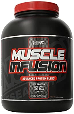 Nutrex Muscle Infusion Protein Blend, Chocolate, 5 Pound