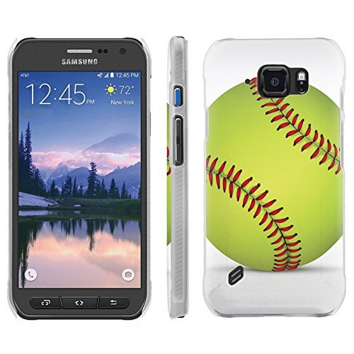 [ArmorXtreme] Phone Case for Samsung Galaxy [S6 Active] G890 [Matte] [Ultra Slim Cover Case] - [SoftBall]