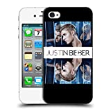 Official Justin Bieber Mirrored Purpose Hard Back Case for Apple iPhone 4 / 4S
