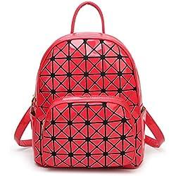 Mochila Geométrica roja
